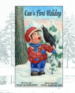 Caw's First Holiday book cover
