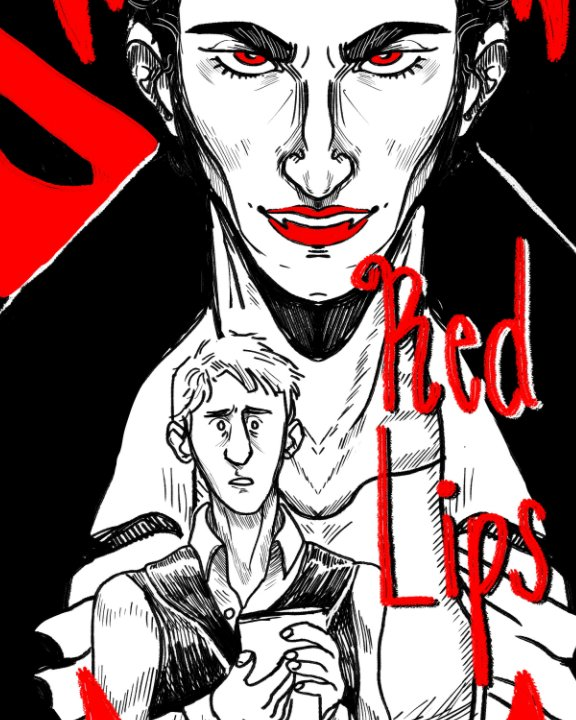 View Those Red Lips by Elliot Rex White