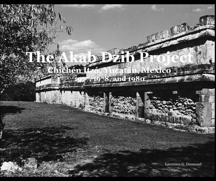 View The Akab Dzib Project by Lawrence G. Desmond
