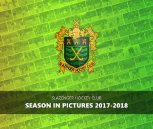 Slazenger HC - Season In Pictures 2017-18 book cover
