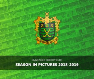 Slazenger HC - Season In Pictures 2018-19 book cover