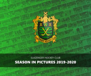 Slazenger HC - Season In Pictures 2019-20 book cover
