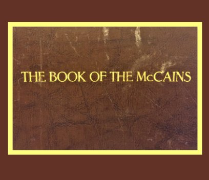 THE BOOK OF THE McCAINS book cover