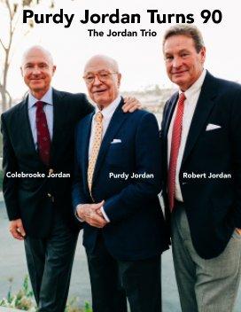 Purdy Jordan's 90th Birthday book cover