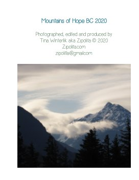 Mountains Of Hope BC 2020 book cover