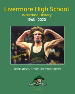 History of Livermore High School Wrestling book cover