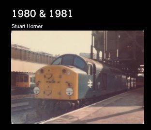 1980 - 1981 British Rail photographs book cover