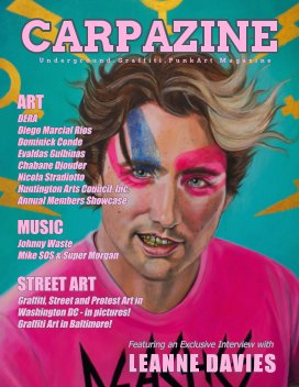 Carpazine Art Magazine Issue Number 24 book cover