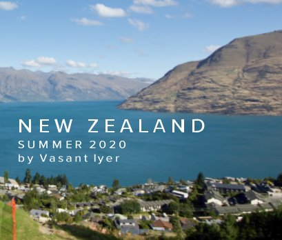 New Zealand by Vasant Iyer book cover