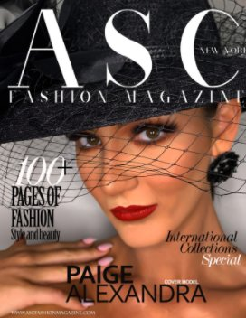 ASC Fashion Magazine book cover