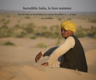 Incredible India, la bien nommée book cover