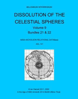 Dissolution of the Celestial Spheres 21, 22 book cover