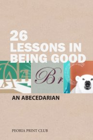 26 Lessons in Being Good book cover