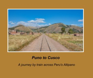 Puno to Cusco Train Jouney book cover