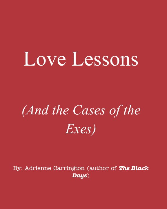 View Love Lessons by Adrienne Carrington