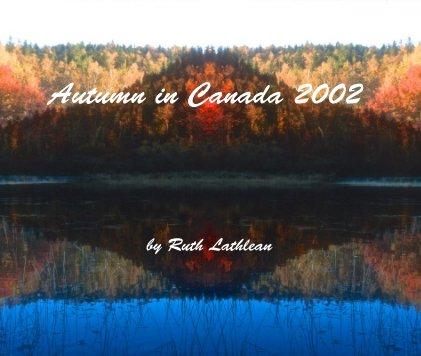 Autumn in Canada 2002 book cover