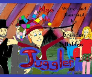 Max the Juggler book cover