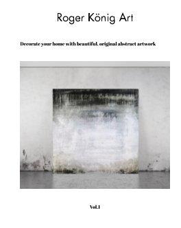 Roger König Art contemporary art book cover