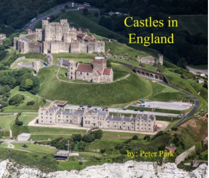 Castles in England book cover