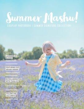 Summer Mashu Fate Grand Order Cosplay book cover