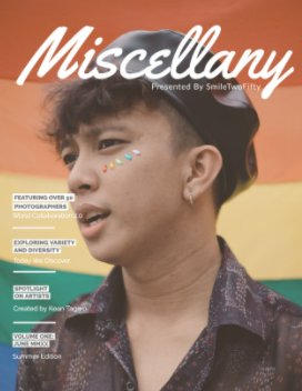 Miscellany Magazine - Diversity Project book cover