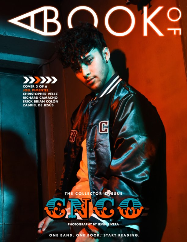 View A BOOK OF CNCO (Joel Cover) by A BOOK OF