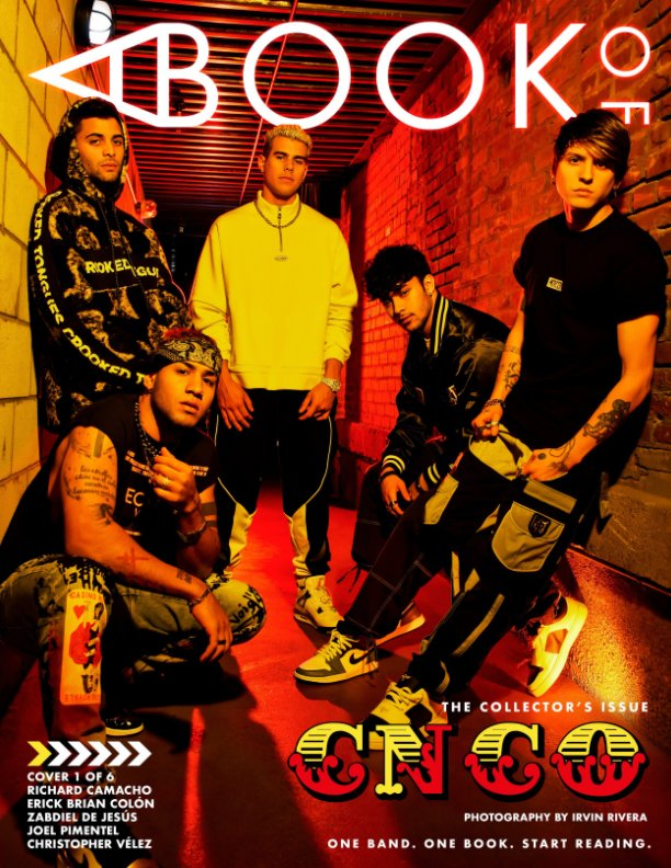 View A BOOK OF CNCO (Group Cover) by A BOOK OF