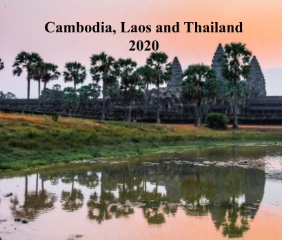 Cambodia, Laos and Thailand book cover