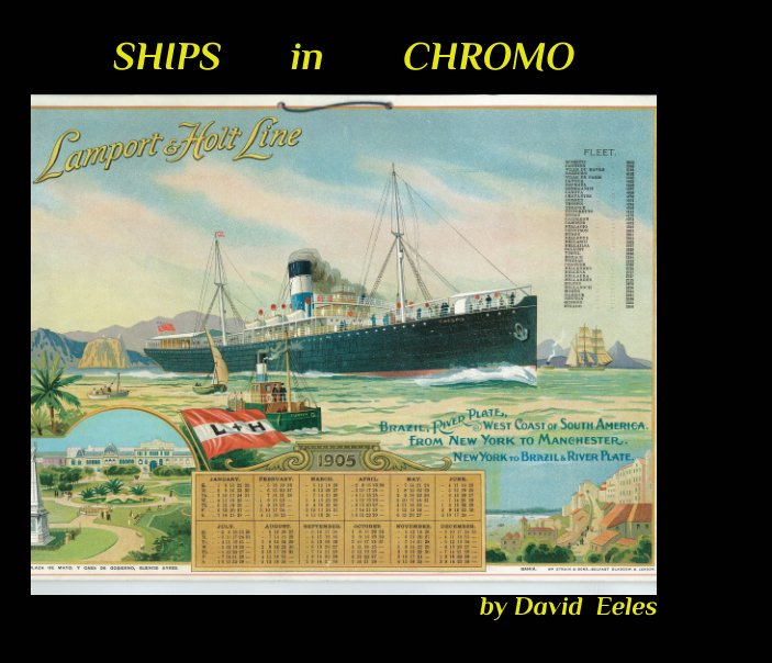 View Ships in Chromo by David Eeles