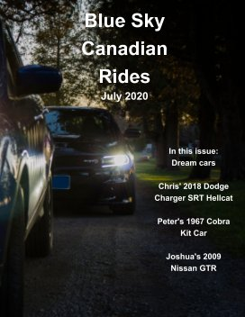 Blue Sky Canadian Rides book cover