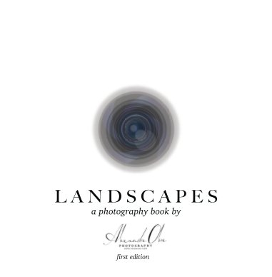 Landscape Photography layflat book cover