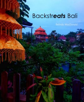 Backstreats Bali Belinda MacDonald book cover