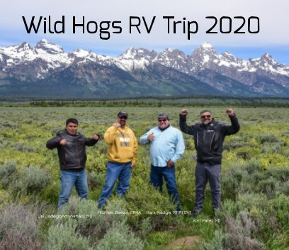 Wild Hogs RV Trip 2020 book cover