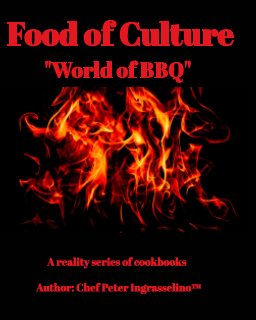 "Food of Culture ""World of BBQ"" book cover"