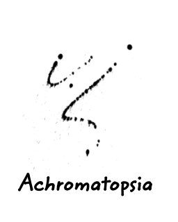 Achromatopsia book cover