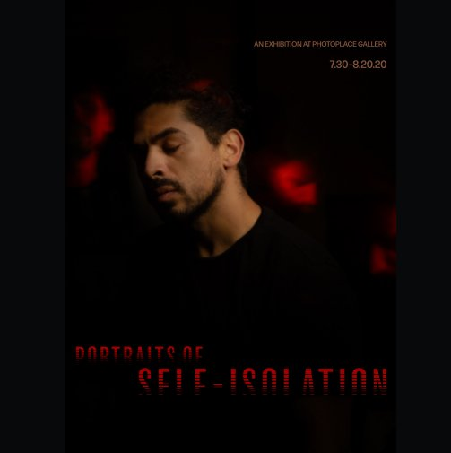 View Portraits of Self-Isolation, Hardcover Imagewrap by PhotoPlace Gallery