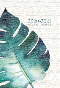2020- 2021 Academic Planner book cover