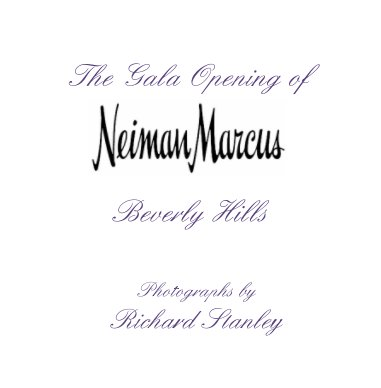 Neiman Marcus Opening book cover