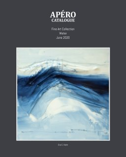 APÉRO Catalogue - SoftCover - Water - July -2020 book cover