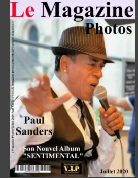 Le Magazine-Photos  Numéro Spécial Paul Sanders son nouvel Album book cover