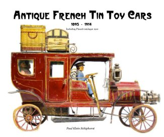 Antique French Tin Toy Cars - small book cover