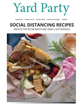 Yard Party - Social Distancing Recipes Magazine book cover