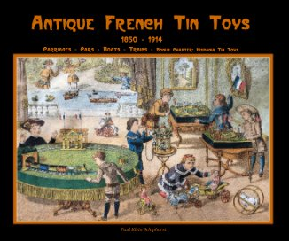 Antique French Tin Toys - small edition book cover