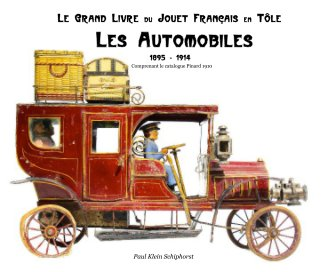 Les Automobiles 25 x 20 cm. book cover