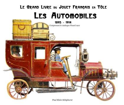 Les Automobiles - de luxe 33 x 28 cm book cover
