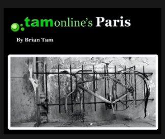 TamOnline's Paris book cover