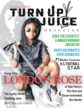 Turn Up Juice Magazine Vol. 2 book cover