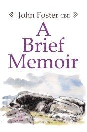 A Brief Memoir book cover