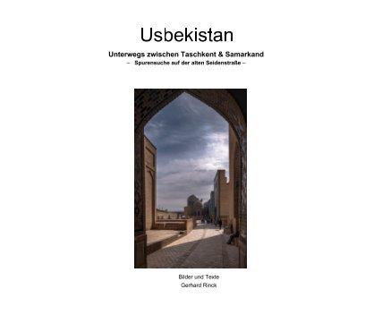 Unterwegs zwischen Taschkent und Samarkand book cover