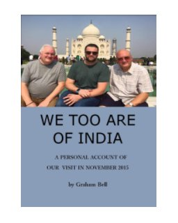 We, Too, Are of India book cover